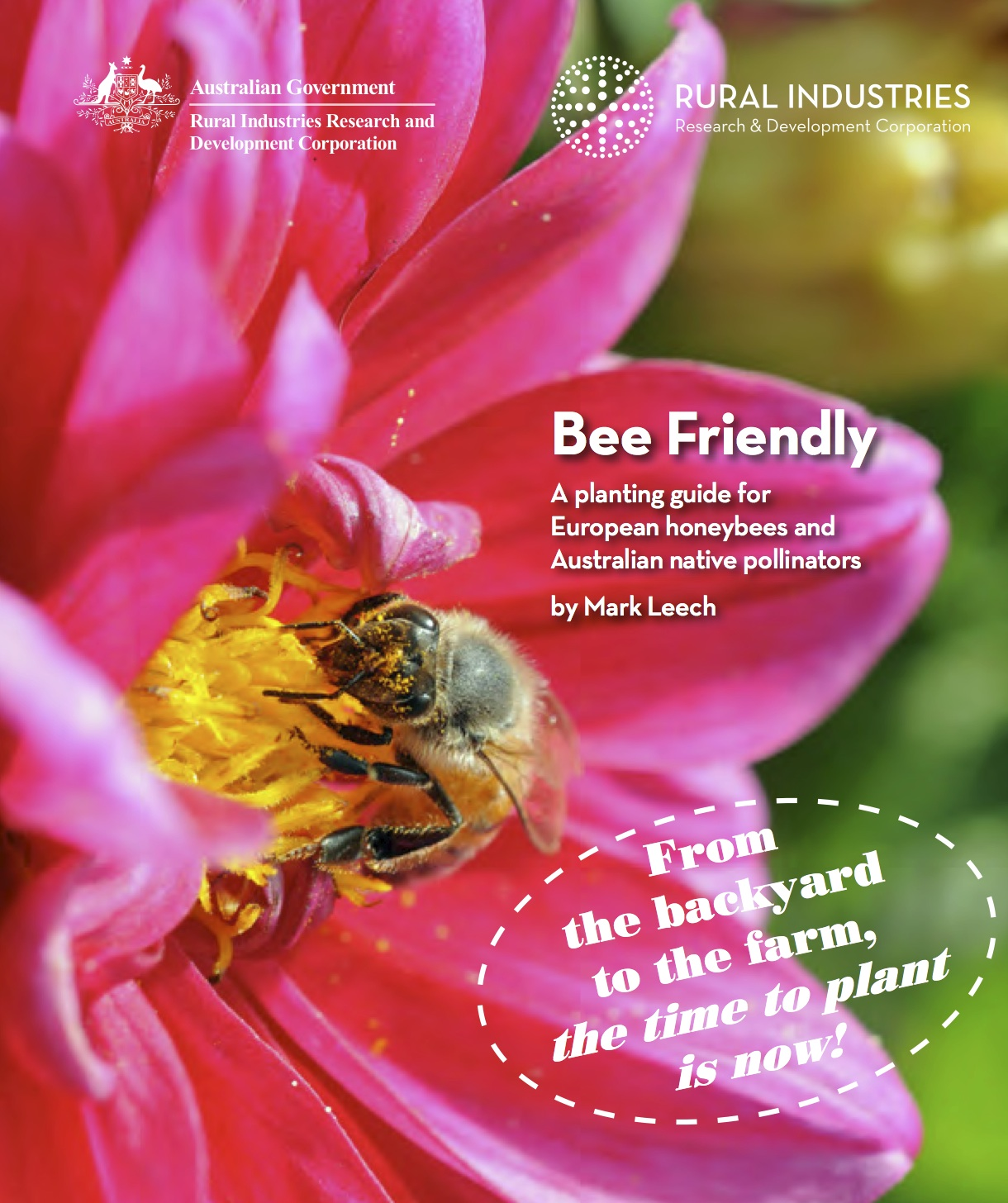 bee friendly cover
